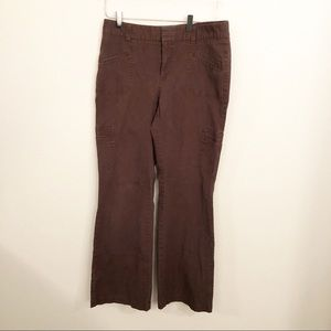 Dockers Favorite Fit Cargo Pants Brown Sz 8